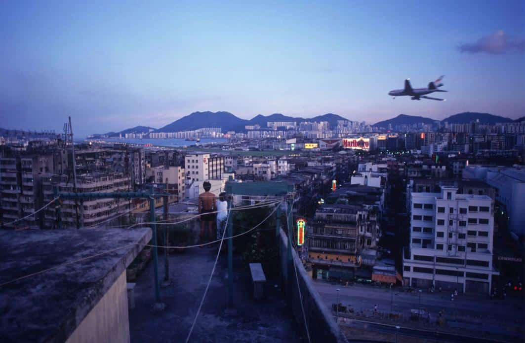 Kowloon Walled City - Rooftop - Greg Girard