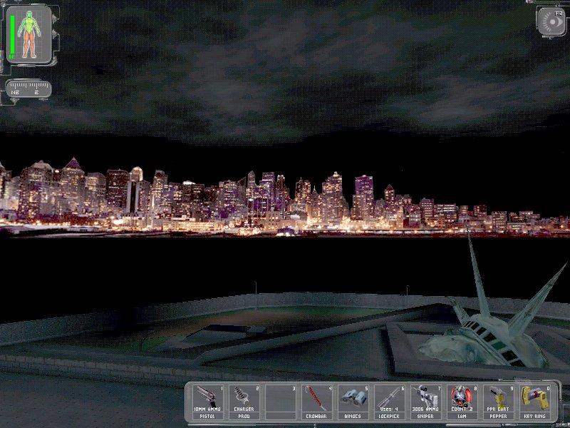 Deus Ex NYC Skyline
