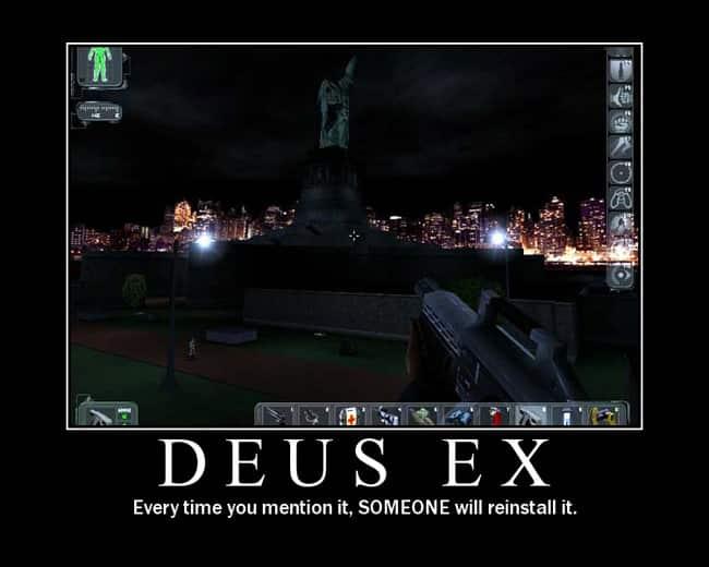 Deus Ex Reinstall Meme