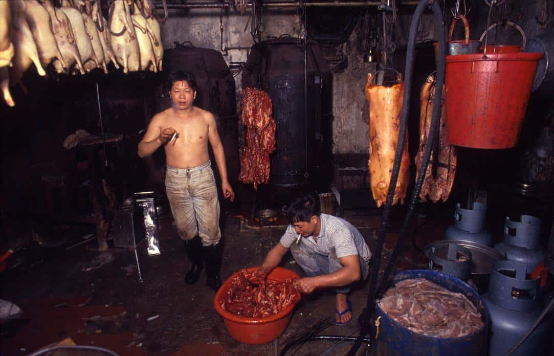 Kowloon Walled City - Meat Factory - Girard