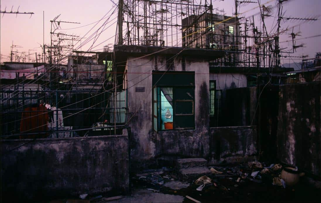 Kowloon Walled City - Rooftop Apartment - Greg Girard