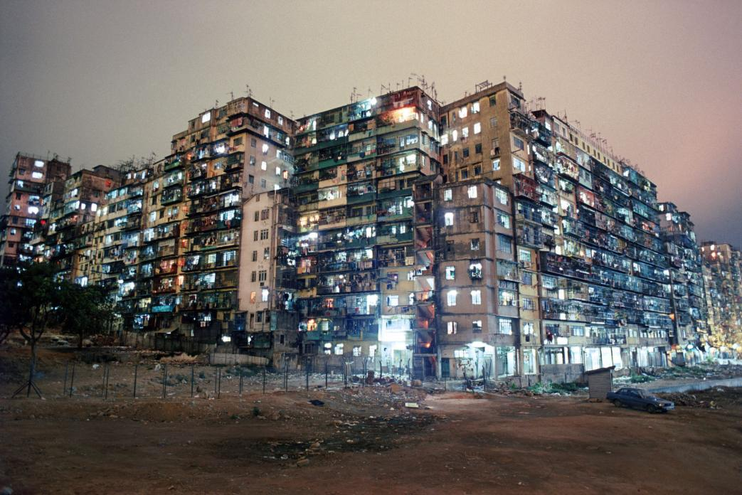 Kowloon Walled City - Night View - Greg Girard