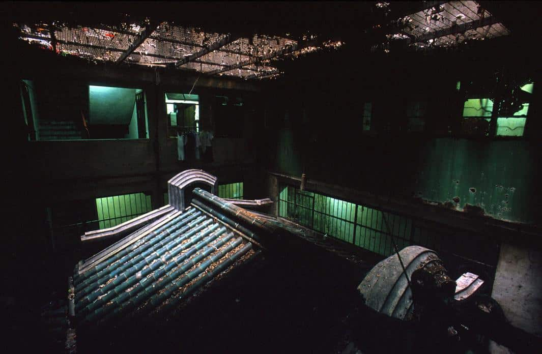 Kowloon Walled City - Temple underneath the KWC - Greg Girard