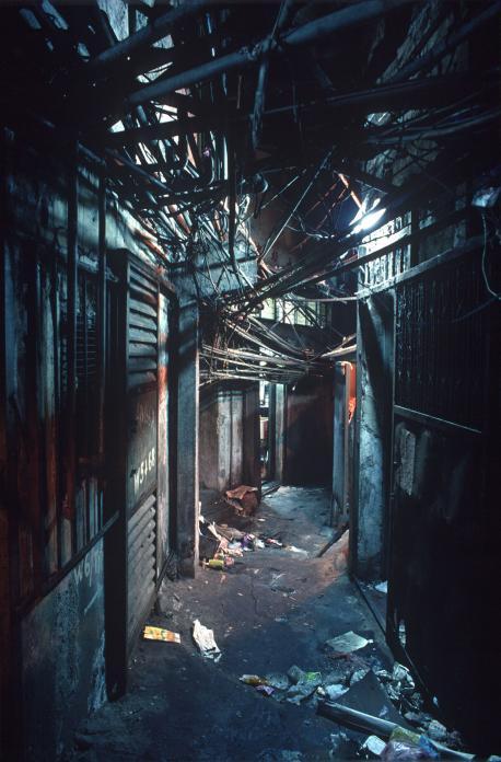 Kowloon Walled City - West Side Street - Greg Girard