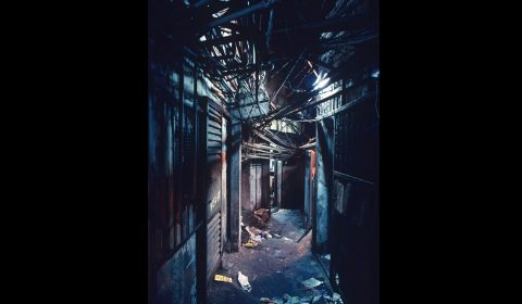 Kowloon Walled City - West Side Street - Greg Girard