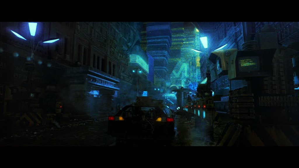 Metropolis - Lower Street Level, Blade Runner, 1982