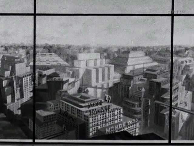 Cityscape, 1927, UFA Babelsberg