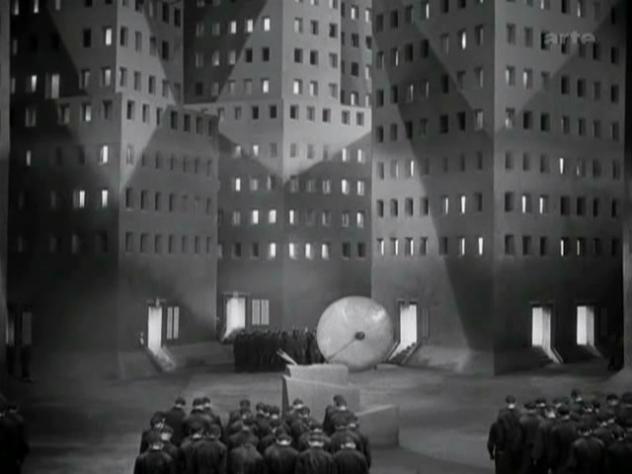 Metropolis - Center of the Lower City, Metropolis 1927, UFA Babelsberg