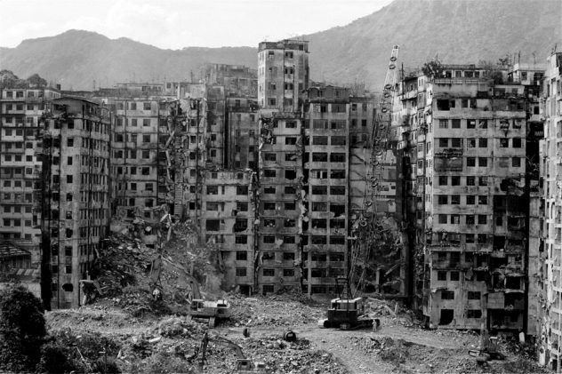 Demolition of the Kowloon Walled City 1993 - SCMP.com