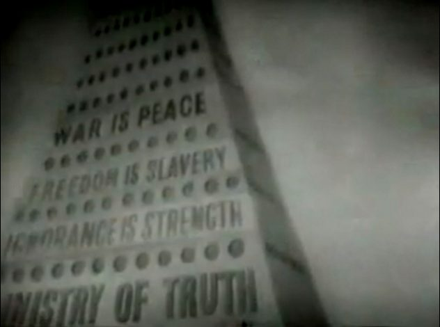 """Tower of Babylon - """"Ministry of Truth"""" 1984, 1956 [Timestamp: 00:01:39]"""