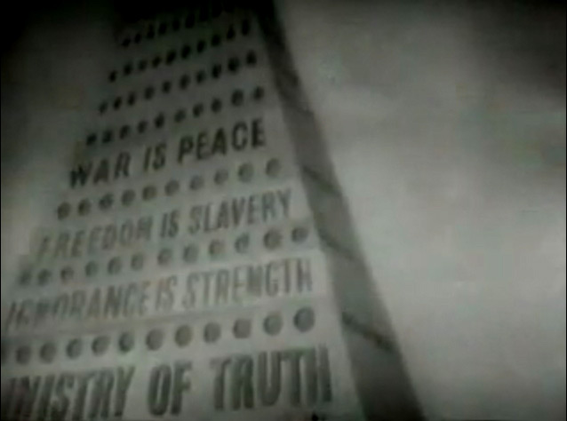 "Tower of Babylon - ""Ministry of Truth"" 1984, 1956 [Timestamp: 00:01:39]"