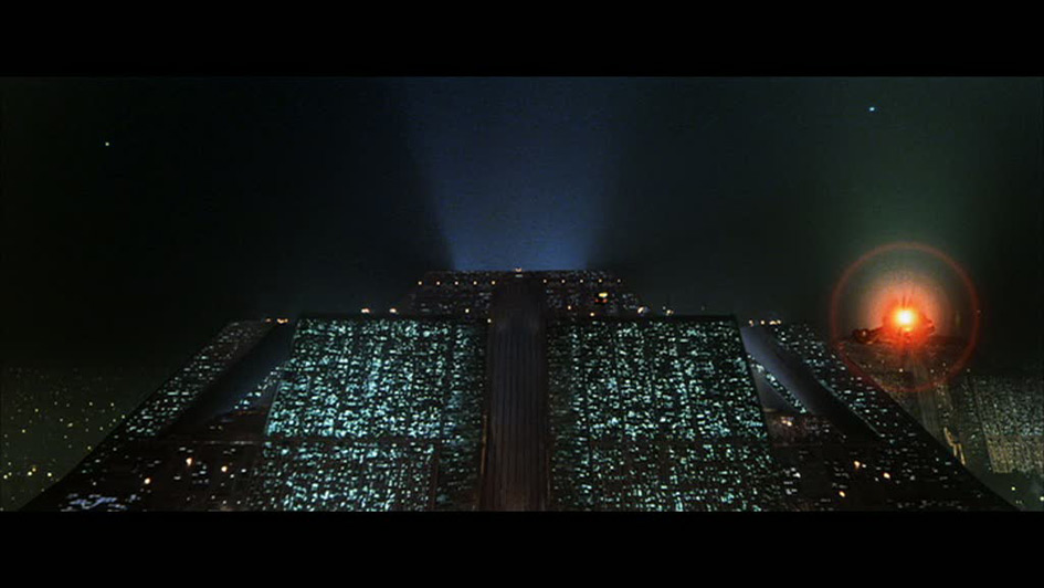 ToB - Corporate HQ in Ridley Scott's Blade Runner, 1982
