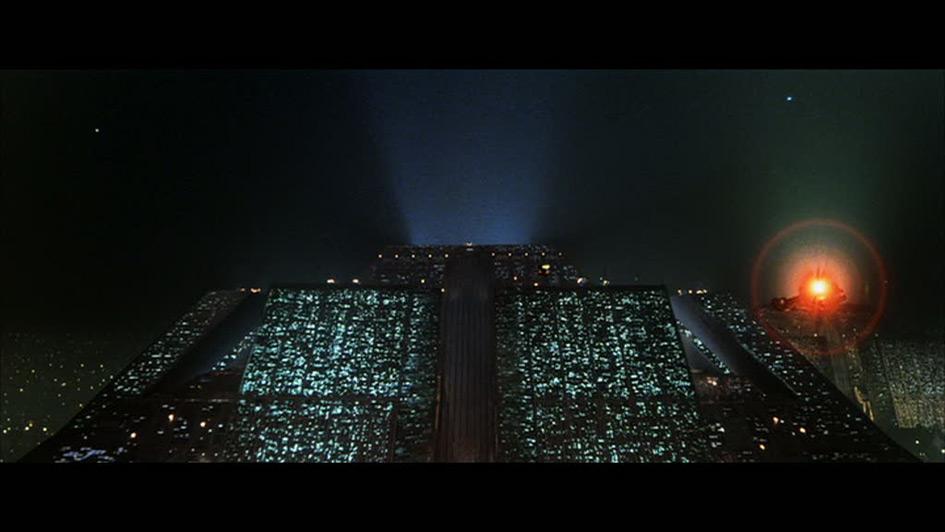 ToB - Corporate HQ in Ridley Scott's Blade Runner, 1982