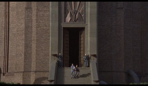 "Tower of Babylon - HQ in Terry Gilliam's ""Brazil"", 1985 [Timestamp: 01:49:30]"