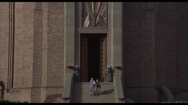 """Tower of Babylon - HQ in Terry Gilliam's """"Brazil"""", 1985 [Timestamp: 01:49:30]"""