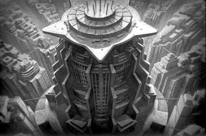 "Tower of Babylon - ""Neuer Turm Babel"", Fritz Lang's Metropolis, 1927"