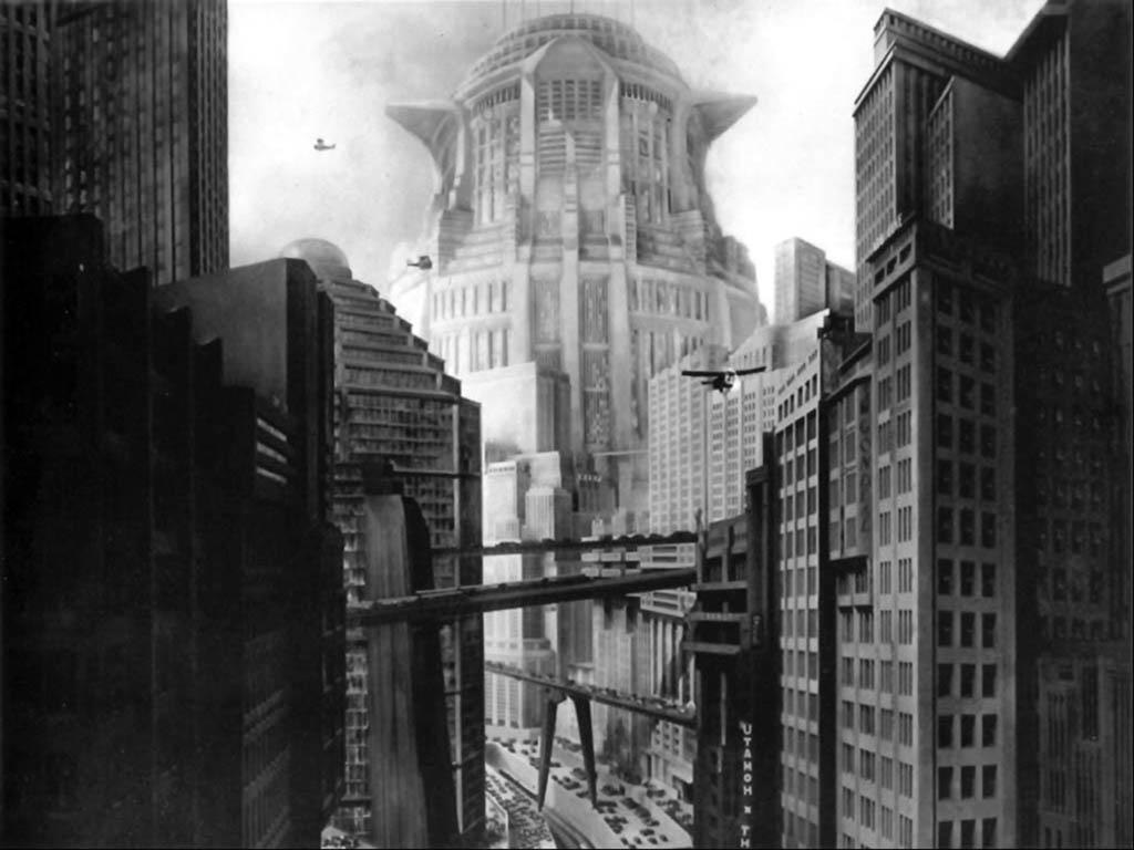 """Tower of Babylon - """"Neuer Turm Babel"""", Fritz Lang's Metropolis, 1927"""