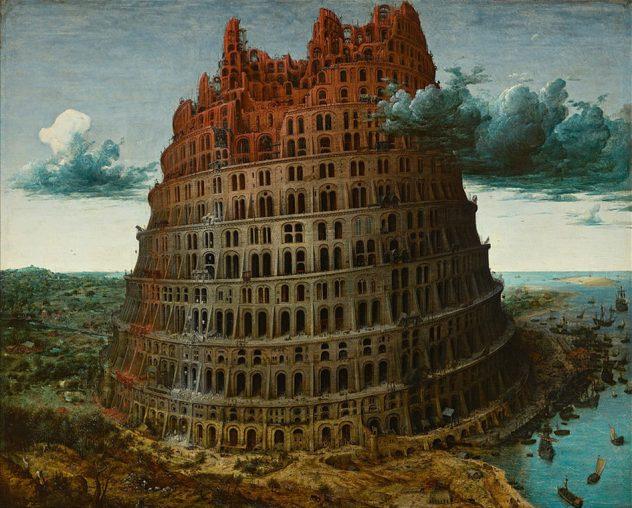 """""""Tower of Babel"""", Pieter Bruegel 02"""