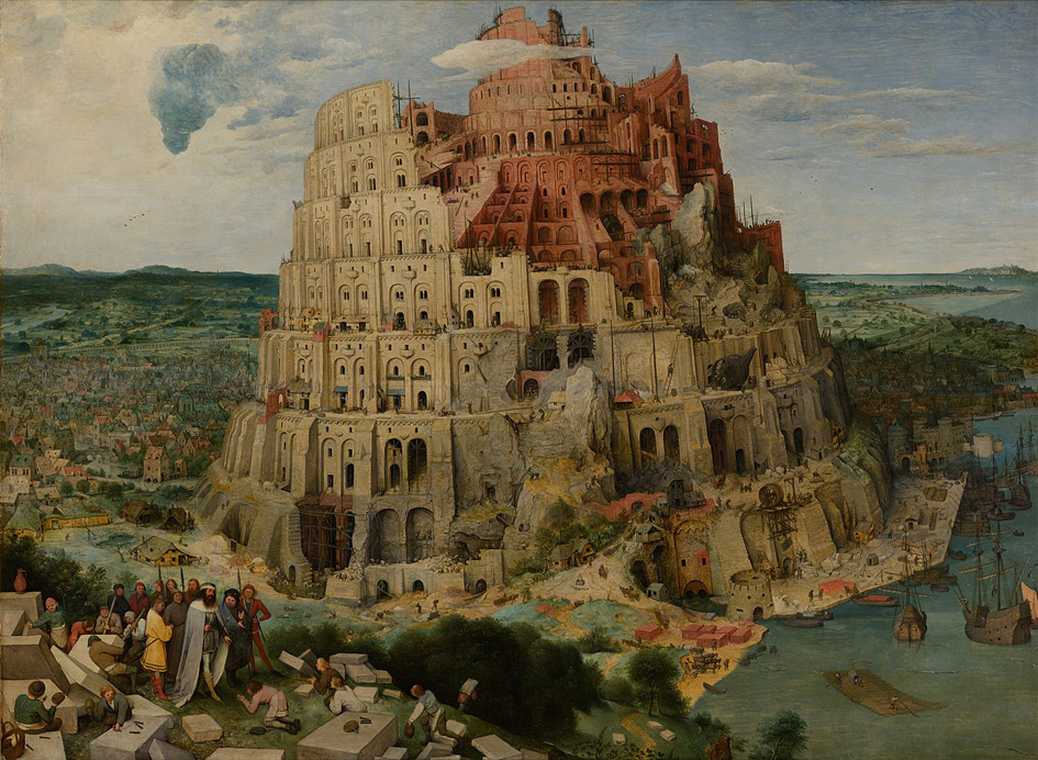 """Tower of Babel"" - Pieter Bruegel 01"