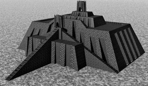 Tower of Babylon - Ziggurat of Ur