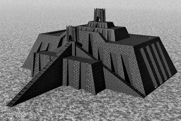 Tower of Babylon - Ziggurat of Ur