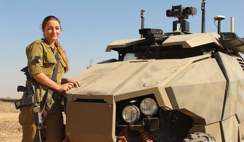 IDF Guardium Autonomous Weapon System