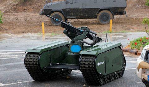 Milrem THeMIS Autonomous Weapon System