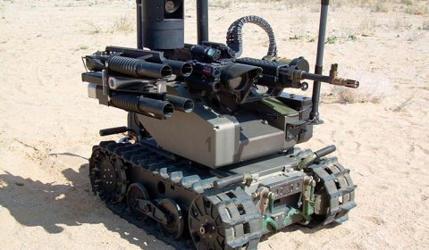QinetiQ MAARS Autonomous Weapon System