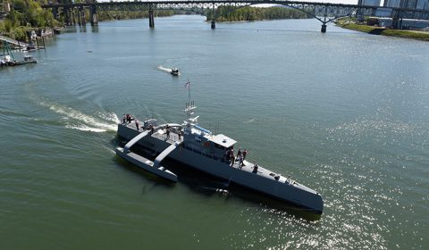 Sea Hunter USV