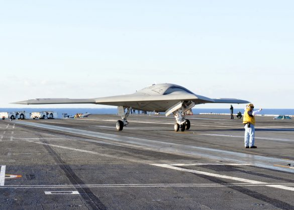 X-47B Autonomous Drone