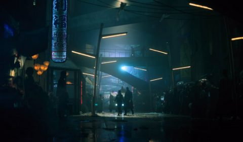 """Lower Street in """"Altered Carbon"""" (2018), © Netflix"""