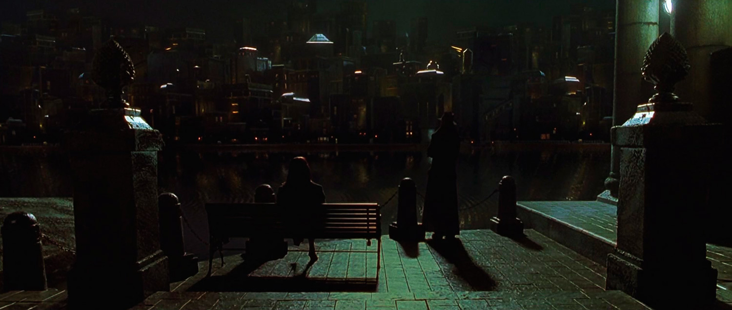 Dark City 1998 Skyline